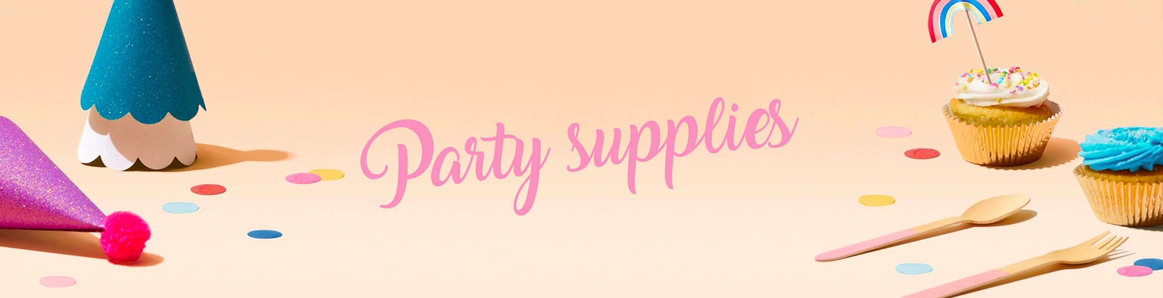 Party supplies for any occasions